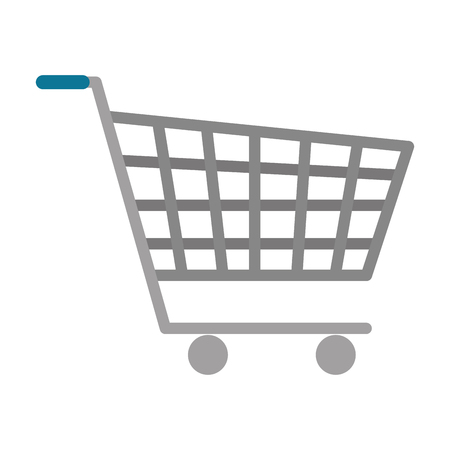 shopping cart isolated icon vector illustration design Banque d'images - 116694461