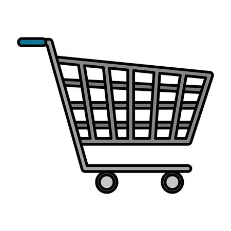 shopping cart isolated icon vector illustration design Archivio Fotografico - 116694446