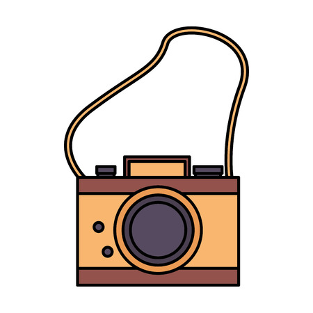 photography camera retro on white background vector illustration Illustration