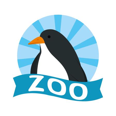 cute penguin bird character vector illustration design Stock fotó - 125113807
