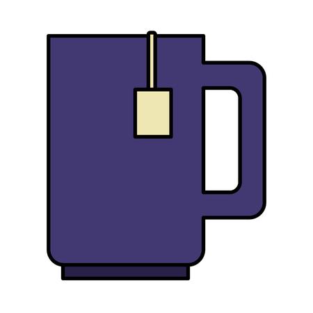 coffee cup isolated icon vector illustration design Archivio Fotografico - 125078330