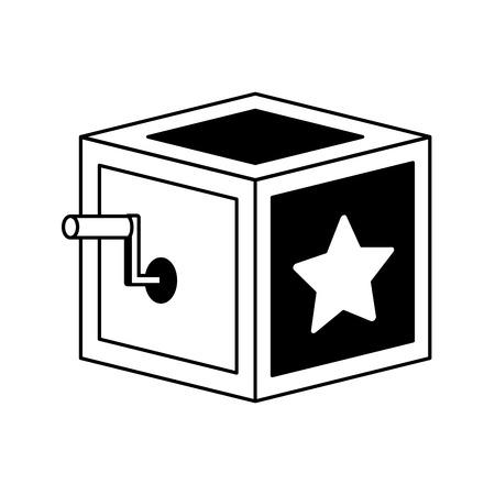 prank box april fools day vector illustration