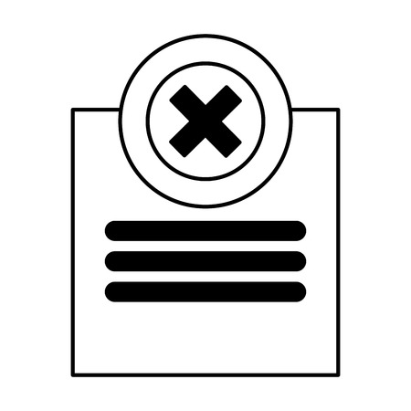 infographic design template web error icon vector illustration vector illustration