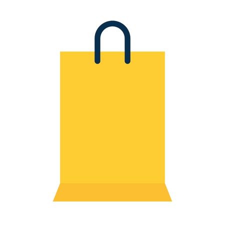 shopping bag handle icon vector illustration design Illustration
