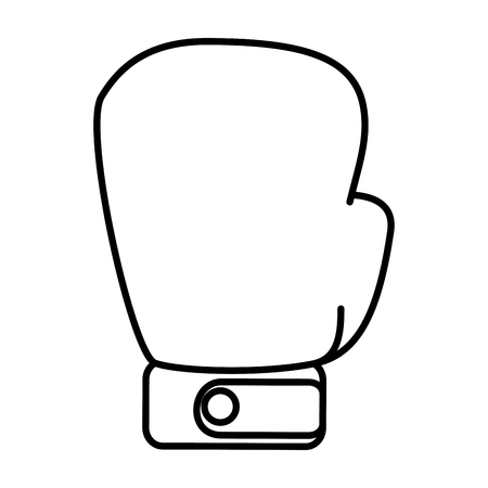 boxing glove isolated icon vector illustration design Иллюстрация
