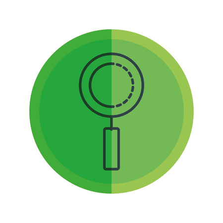 search magnifying glass icon vector illustration design Stok Fotoğraf - 124331846