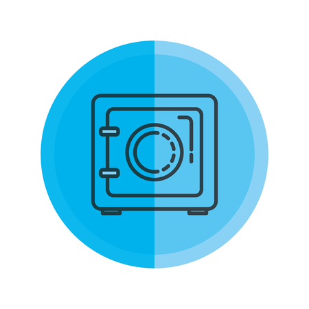 safe security box icon vector illustration design 일러스트