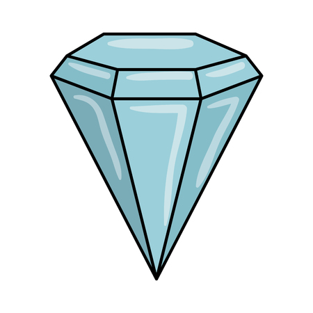 diamond luxury isolated icon vector illustration design Banque d'images - 118997821