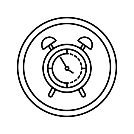 alarm clock isolated icon vector illustration design Banque d'images - 124334116