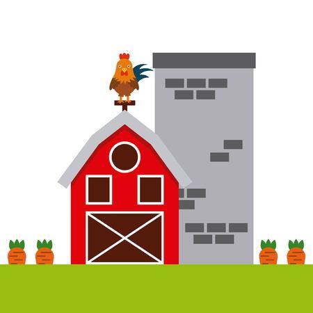 farm animal design, vector illustration eps10 graphic 向量圖像