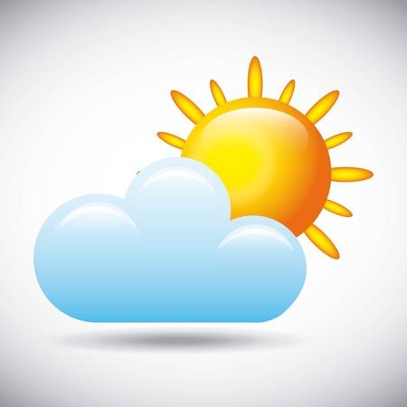 weather concept design Illustration