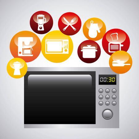 kitchen equipment design, vector illustration eps10 graphic