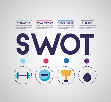 swot infographic analysis