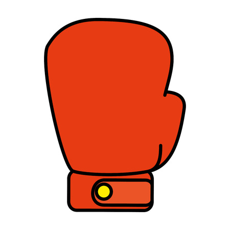 boxing glove isolated icon vector illustration design 矢量图像
