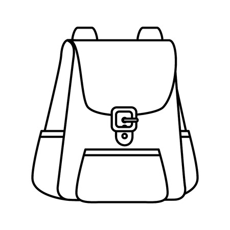 travel bag tourism icon vector illustration design 向量圖像