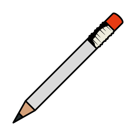pencil writing isolated icon vector illustration design