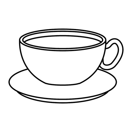 coffee cup beverage icon vector illustration design Illustration