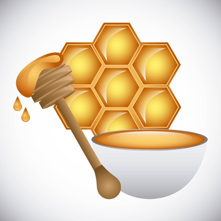 honey face cream design, vector illustration eps10 graphic