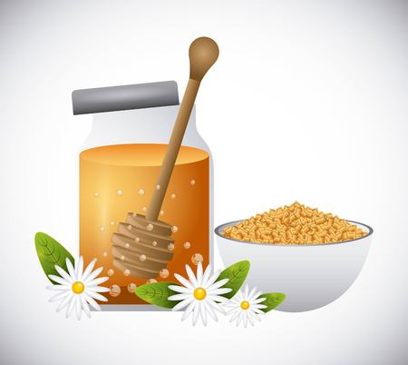 honey face cream design, vector illustration eps10 graphic