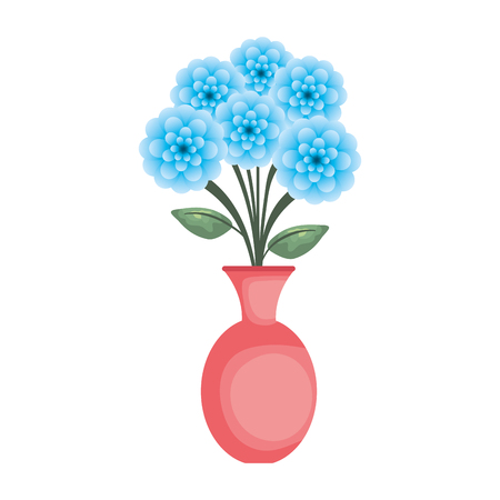 vase with roses icon vector illustration design Stock Vector - 119160040