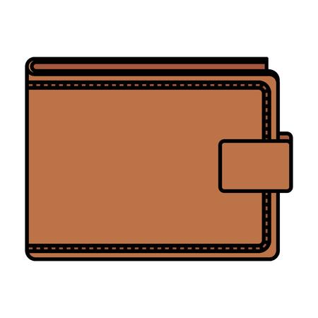 Diseño de ilustración de vector de icono de dinero de cartera Ilustración de vector