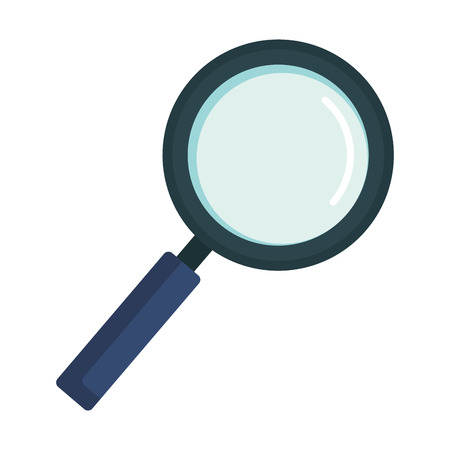 search magnifying glass icon vector illustration design Stok Fotoğraf - 119405910