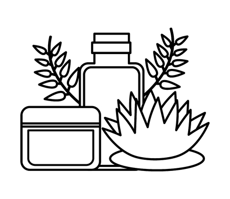 products care skin flower spa treatment therapy vector illustration 版權商用圖片 - 124268629