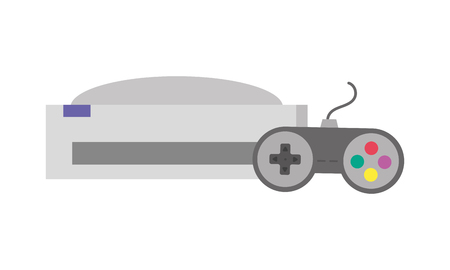 videogame console isolated icon vector illustration design