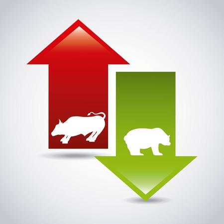 stock exchange design, vector illustration eps10 graphic Illusztráció