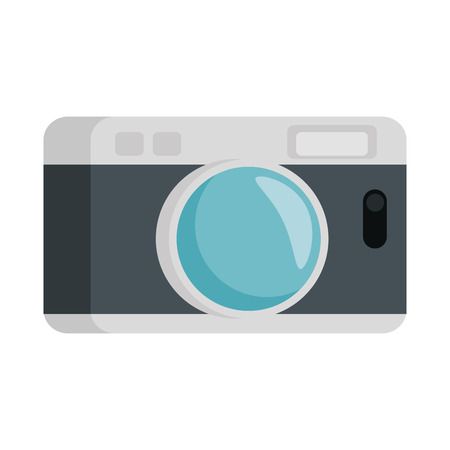 camera photographic isolated icon vector illustration design