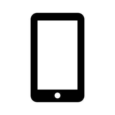 smartphone technology line icon vector illustration design Stock fotó - 124198898