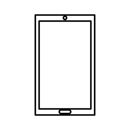 smartphone technology line icon vector illustration design Stock fotó - 119672339