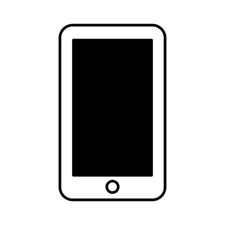 smartphone technology line icon vector illustration design Stock fotó - 119672343