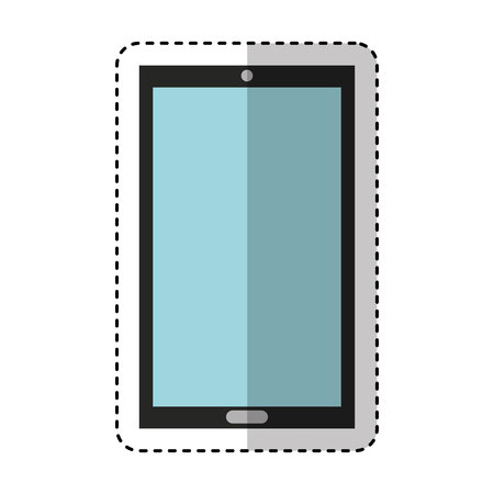 smartphone technology line icon vector illustration design Stock fotó - 119696064