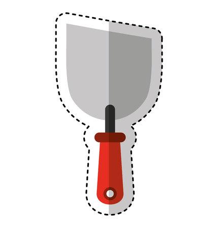 spatula tool isolated icon vector illustration design Ilustração