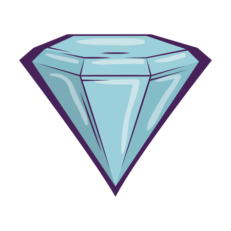 diamond luxury isolated icon vector illustration design Banque d'images - 119735435