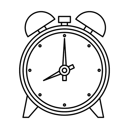 alarm clock isolated icon vector illustration design Banque d'images - 124203900