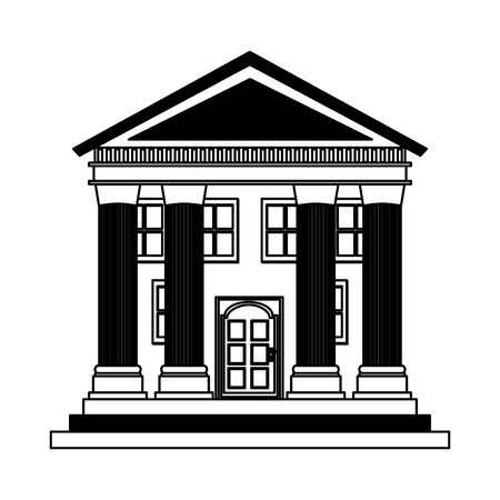 building roman columns icon vector illustration design 版權商用圖片 - 119757046