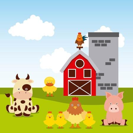 farm digital design, vector illustration eps10 graphic