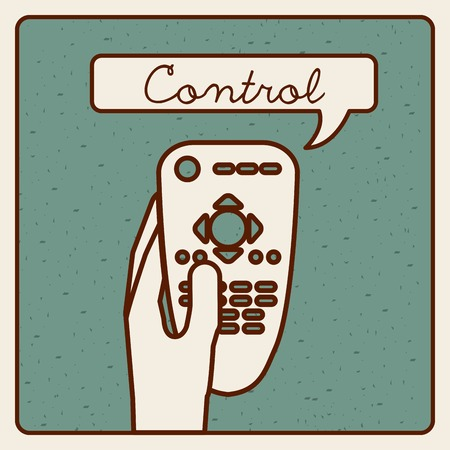 control remote design Illustration