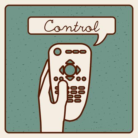 control remote design Vectores