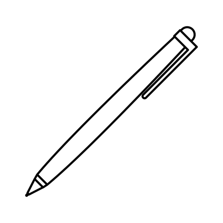 pen ink isolated icon vector illustration design