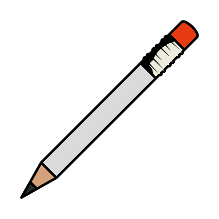 pencil writing isolated icon vector illustration design 스톡 콘텐츠 - 123972016