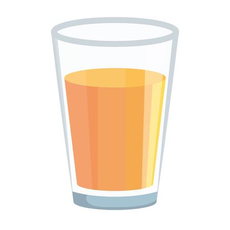 yogurth in glass icon vector illustration design