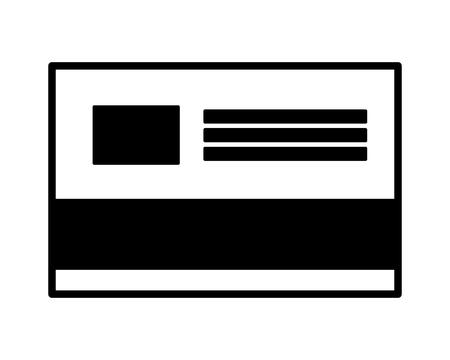 bank credit card payment vector illustration design