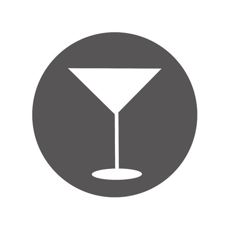 cup drink alcohol icon vector illustration design