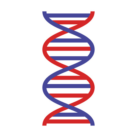 dna molecule science icon vector illustration design Çizim