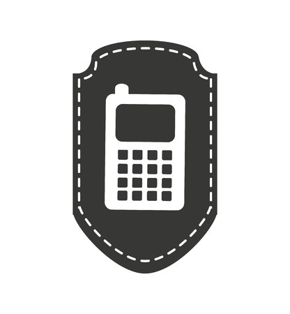 smartphone technology line icon vector illustration design Imagens - 120314610