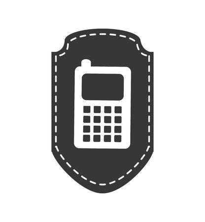 smartphone technology line icon vector illustration design Stock fotó - 120314610