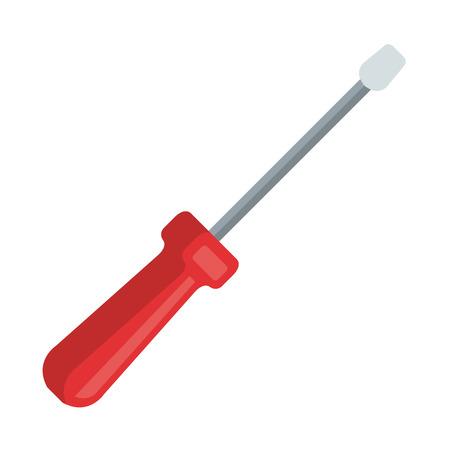 screwdriver tool isolated icon vector illustration design Stock fotó - 123974127